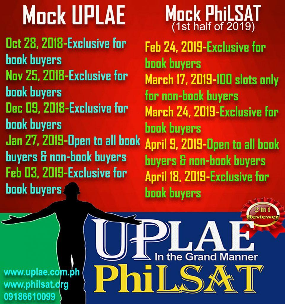 Mock UPLAE/PhiLSAT
