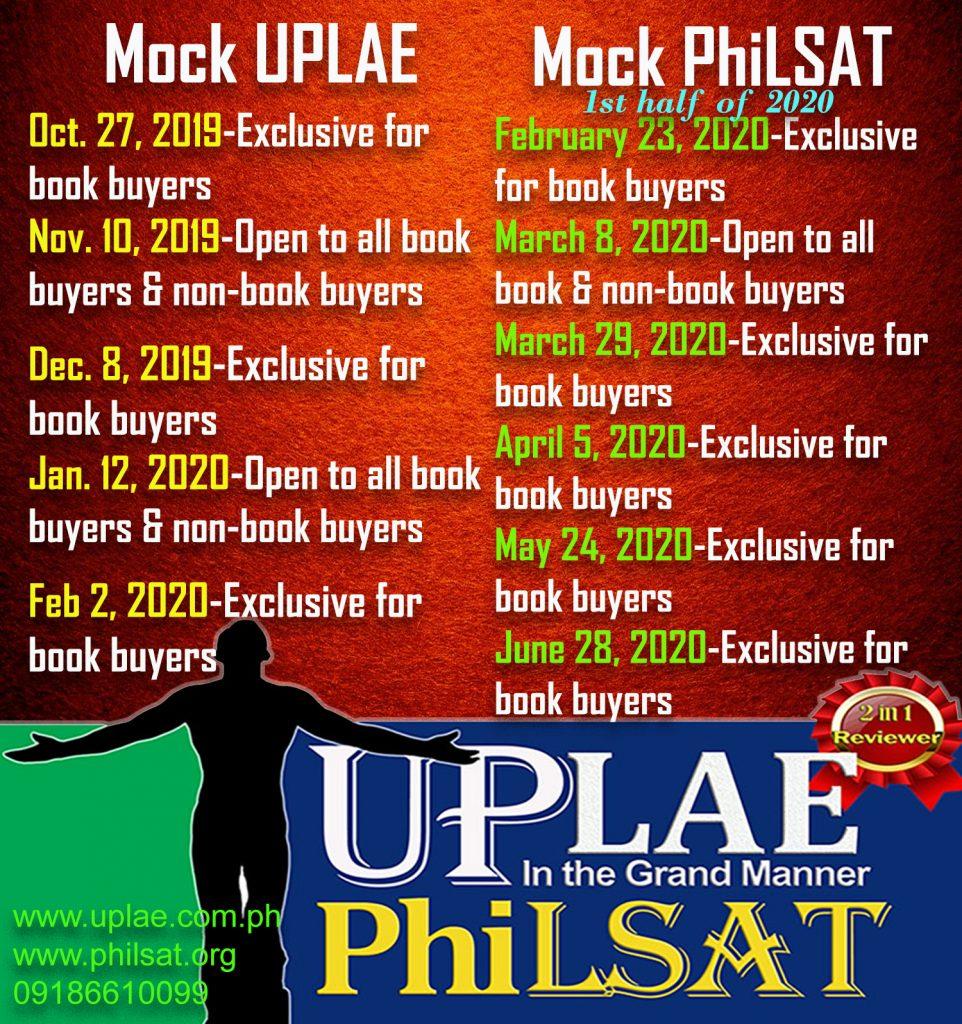 Mock UP Law Aptitude Examination