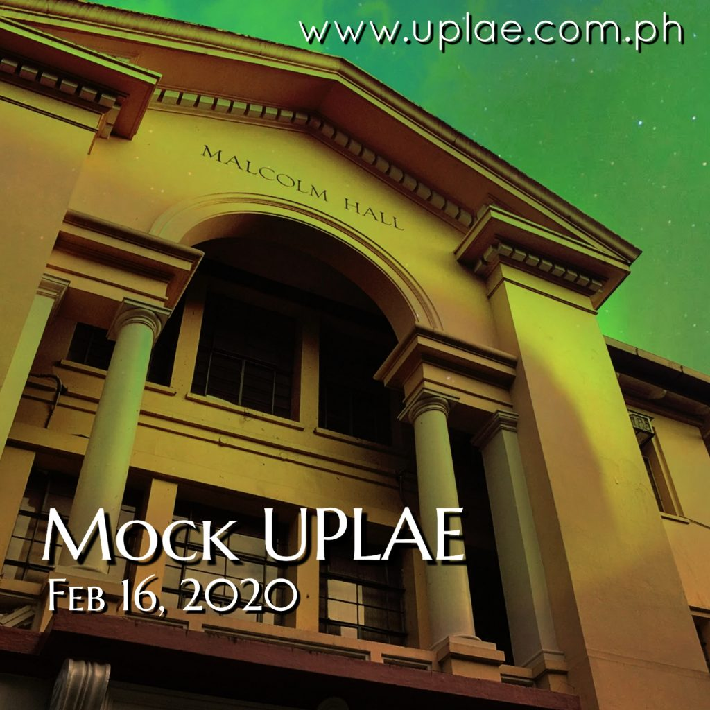 Special Session for Mock UPLAE